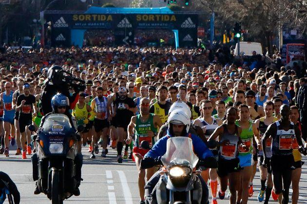 Salida Mitja Maratò Granollers